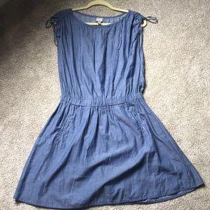 Size M Chambray dress-Converse